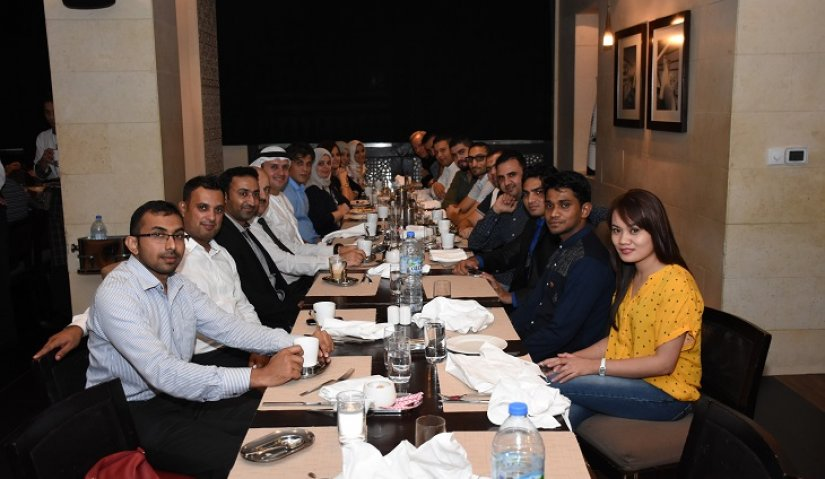 Al Falah University Organizes Iftar for the AFU Staff Members