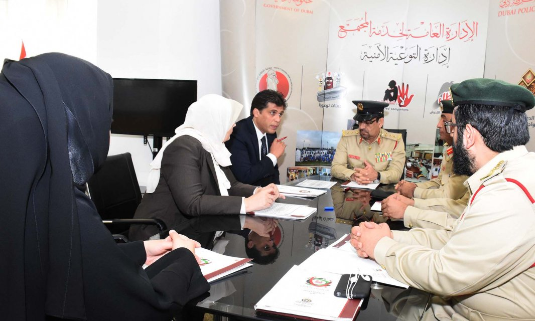 A Delegation from ِAl Falah University Visits Dubai Police General Headquarters