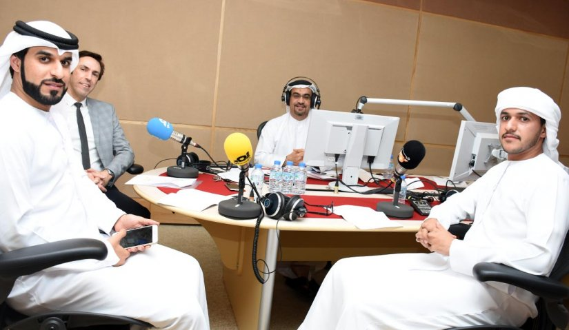 AFU students go live on air at Noor Dubai Radio Station