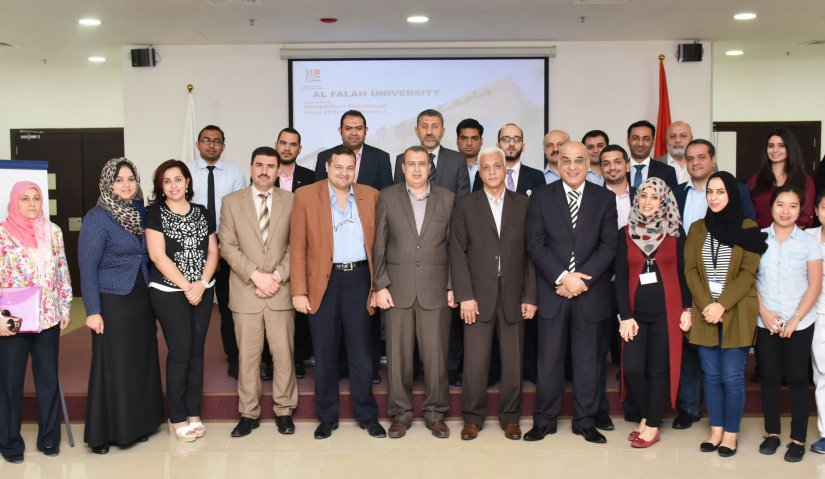 Interactive Meeting Concludes the Academic Year 2016 – 2017 at Al Falah University