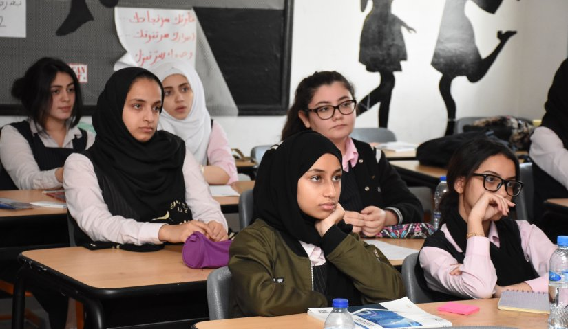 Media Education for Al Ahlia Charity School Students