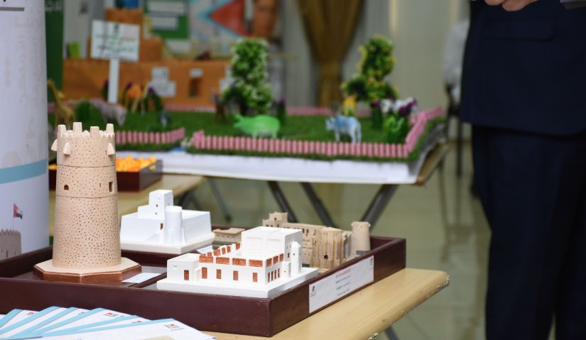 College of Mass Communication Organized Exhibition for Students' Projects