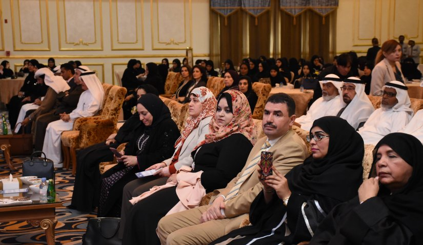 Al Falah University participates in the Seventh Health Forum organized by Al Nahda Women Association