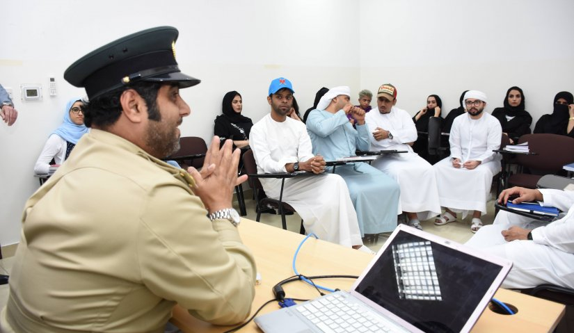A workshop in the Awareness of traffic safety